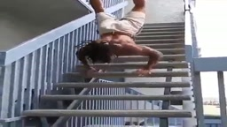 Crazy Staircase workout