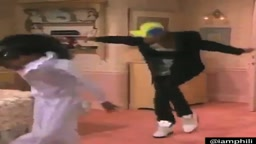 Funny Scene from The Fresh Prince of Bel Air