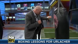 Mike Tyson gives boxing lessons