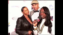 Jackie Christie with Husband Doug Christie on the Red Carpet