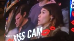 Woman Kisses Man Next to Her on Kiss Cam After Date Snubs