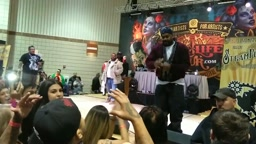 Ghostface Killah Calls Out Heckler In Crowd, & He Gets BEAT UP!!