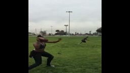 Female Throws Football BETTER than MOST MEN! Has NFL Quarterback Arm!