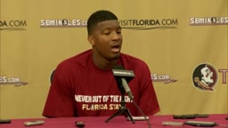 Future Nfl Star Jameis Winston will be a Fun interviewer