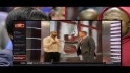 Roy Jones shows How Floyd Mayweather will Fight Manny Pacquiao on Live TV ! - Full Video