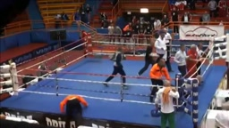 Boxer Beats Referee Silly After A Questionable Loss