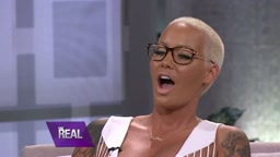 Amber Rose Stands Up Against Slut-Shaming [The Real Talk Show]