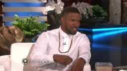 LOL!!! Jamie Foxx Talks Playing Mike Tyson (Funny Story)