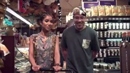 Jhene Aiko Explains Her Infamous 'Her Man Better Eat the Booty Like Groceries' Lyric at The Grocery Store! lol | MTV New