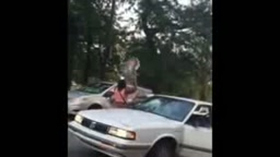 ROAD RAGE FAIL!!! Man Attacks Two Women During ROAD RAGE INCIDENT