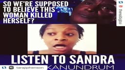PROOF SANDRA BLAND WAS KILLED: ... WATCH THIS VIDEO!