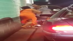 TACKY AS HELL! Woman Jumps Out of Car in McDonald's Drive Thru to Fight!