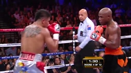 When being slick backfires Mayweather KOs Victor Ortiz after intentional Headbutt