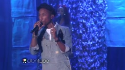 Watch Pharrell perform his latest single Freedom live on Ellen!