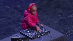 Three-year-old DJ Arch JNR destroys competition on South Africa's Got Talent