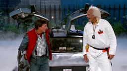 Back 2 the Future Marty McFly & Doc Brown Visit Jimmy Kimmel Live