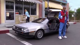 What if one of Back to the Future's black characters went back to the future?