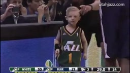 The Utah Jazz signed 5 year-old and leukemia sufferer, JP Gibson, to a one-day contract