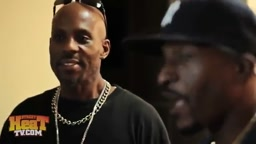 WOW! DMX Gets HYPE Meeting His FAVORITE Rapper Rakim For The First Time