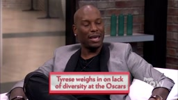 Tyrese Gibson Says Chris Rock Should STEP DOWN As Oscar Host