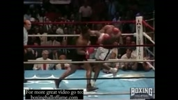 Mike Tyson KOs Gross. Mike Tyson scores 1st round KO