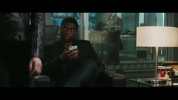 Black Panther and Black Widow Deleted Scene from Captain America Civil War