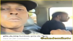 Gillie Says Someone gotta DIE in this Meek Mill vs The Game beef or its FAKE!
