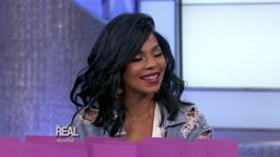 Ashanti Co-Hosts The Real Daytime