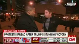 Hillary Clinton Supporter Goes Crazy Says SUE The US for Trump Winning Election