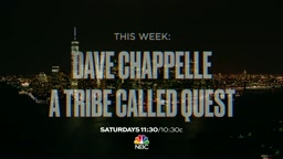 Watch Dave Chappelle & A Tribe Called Quest's SNL Promo
