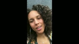 Alicia Keys sings Acappella for Miley Cyrus We Are Here and Happy Hippie love movement