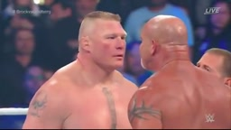 WWE Survivor Series 2016_ Bill Goldberg vs Brock Lesnar (full match)
