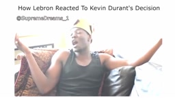 How Lebron Reacted To Kevin Durant's Decision