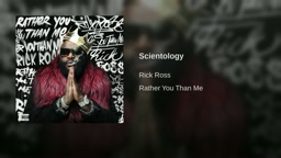 Rick ross -Scientology [Rather You Than Me] Album Track 10