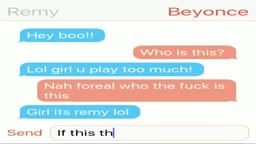 Nicki Minaj just leaked Beyoncé's & Remy Ma's conversation