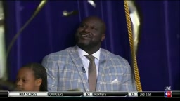 Watch the Unveiling of Shaq's' statue at the Staples Center