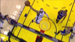 Vince Carter Dunks by Warriors Andre iguodola