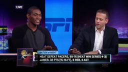 Ron Artest (Metta World Peace) says Michael Jordan was BETTER and just as strong as LeBron