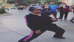 Las Vegas 72 year old Granny is Lit #LitDance