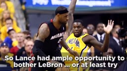 The history behind Lebron James vs Lance Stephenson