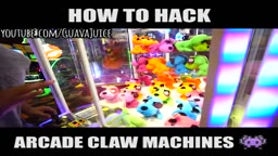 How To Hack ARCADE CLAW MACHINES!