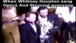 When Whitney Houston stunned Pavarotti... (Rainforest Benefit - 1994)