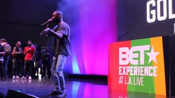 Goldlink Bet Awards Performance Bet Experience