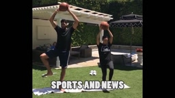 Anthony Davis SHOWING OFF THE BOUNCE & Improving Core Strength, Balance In Off Season!