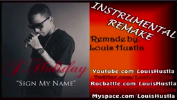 J Holiday SIgn My Name Instrumental W/ Hook